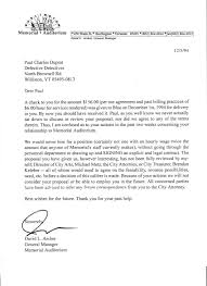 cover letter letter of termination of services letter of