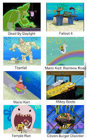 Spongebob Squarepants Meme - spongebob squarepants the mother of games by asdfstryps meme center
