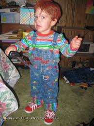 chucky costume for toddler awesome chucky costume for a 2 year boy chucky costume