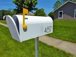 cassetta della posta americana cassetta della posta inglese o americana con palo quando e come