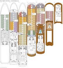 deck plans com silver shadow deck plans diagrams pictures