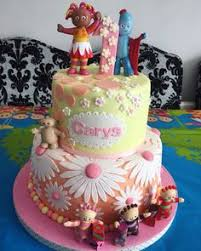 in the night garden cake by nicola thompson cake ideas