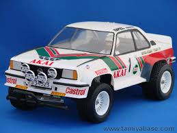 opel ascona 2017 58037 tamiya model database tamiyabase com