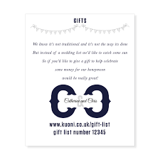 wedding gift registry uk gift list wording etiquetteinki pinki weddings designer wedding