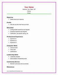 resume templates for high students with no experience resume exles for college students with work experience