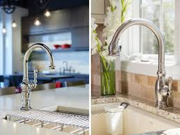 polished nickel kitchen faucets kitchen faucets 101 from finish options to touchless technology
