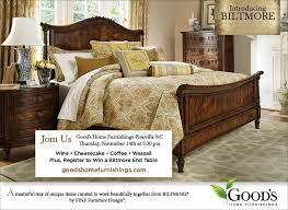 Goods Home Furnishings Introduces The New Biltmore Collection By - Bedroom furniture charlotte nc