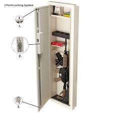 between the studs gun cabinet v line 51653 s ivy closet vault ii gun cabinet safe and vault