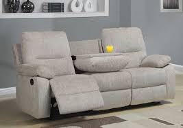 Chenille Reclining Sofa Homelegance Marianna Reclining Sofa With Center Drop