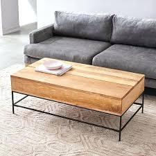 west elm industrial storage coffee table west elm coffee table west elm storage coffee table craigslist