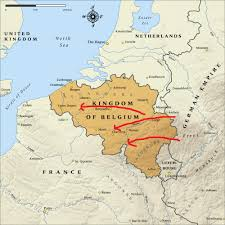 Map Of Germany And France by Slaughter In A Foreign Field My Family At War