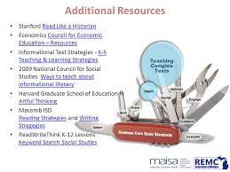 tools for teachers connecting social studies and the ccss