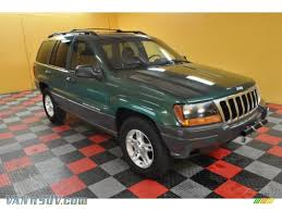 jeep cherokee green 1999 jeep grand cherokee laredo 4x4 in everglade green pearl