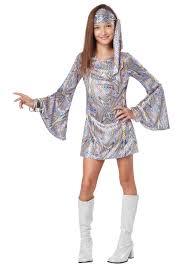 white witch costume kids girls white gogo boots