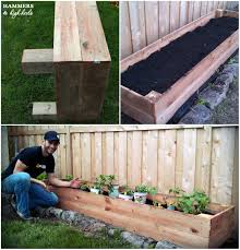 Backyard Planter Box Ideas Diy Home Garden Box Home Art