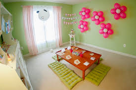 simple home decoration for birthday decorating of