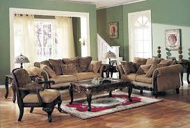 classic livingroom chenille fabric classic living room sofa w options