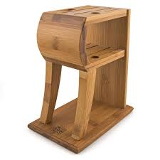 knife block holder 6 slot bamboo knives storage wood stand kitchen knife block holder 6 slot bamboo knives storage wood stand kitchen organizer what s it worth