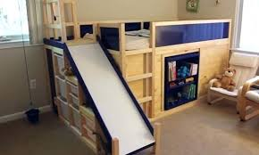 Bunk Bed With Slide Out Bed Bunk Bed Slide Golbiprint Me