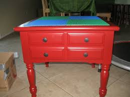 Diy Lego Table by Turn An Old Piece Of Furniture Into A Clever Lego Table With