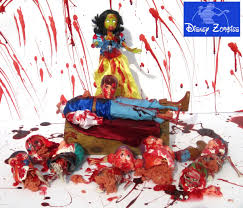 disney halloween figurines disney zombie princesses by matt christensen u2013 pleated jeans