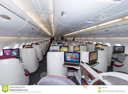 interior of business class of the world u0027s largest aircraft airbus