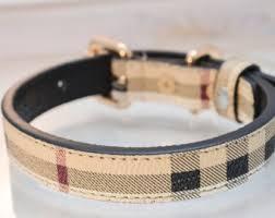 tuesday collar etsy burberry dog collar etsy