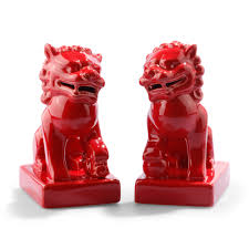 choo foo dogs finally found a set of orange foo dogs set of 2 for 58 on c