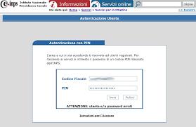 cassetto previdenziale cittadino inps www inps it come accedere al cedolino pensione