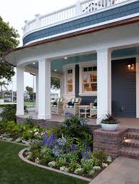 Landscaping Ideas Front Yard Ideas For Flower Beds In Front Of Porch With Regard To Encourage