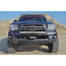tacoma grill light bar 50 rigid led light bar w roof mount brackets 2005 2017 toyota tacoma