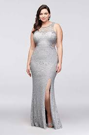 silver plus size bridesmaid dresses s plus size dresses for all occasions david s bridal