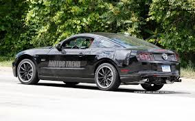 2015 Mustang Gt Black On Black Spied 2015 Ford Mustang Test Mule Disguised As 2013 Mustang Gt
