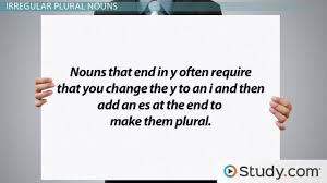 Plural Form Of Resume Singular U0026 Plural Nouns Definitions Rules U0026 Examples Video
