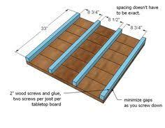 square coffee table w planked top free diy plans plank