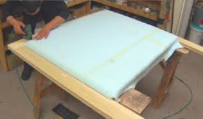 diy how to upholster a headboard alo upholstery youtube