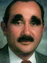 Creepy Mustache Meme - 19 of the worst bad eyebrows ever team jimmy joe