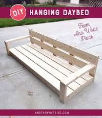 Diy Daybed Frame Day 31 Build A Simple Modern Sofa With 2x4s Sofa Daybed