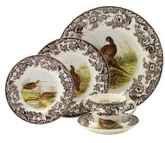spode woodland 5 place setting spode usa