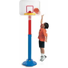 basketball halloween basket little tikes adjust u0027n jam basketball set walmart com