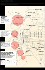 Colorado On A Map by On Unsolid Ground Risk Grows As Homes Crumble In Colorado Springs