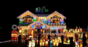 best christmas decorated houses house decor