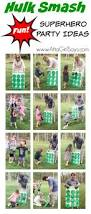 superheroes birthday party ideas carnival games superhero and