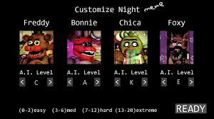 Meme Custom - for fun fnaf custom night meme by hungergames1226 on deviantart