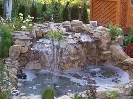 outdoor yard pond ideas beautiful green landscape yard pond
