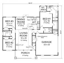 3 bedroom floor plans with garage bi level house plans with attached garage webbkyrkan