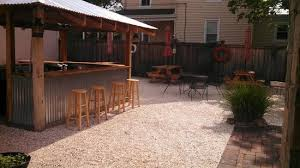 backyard eating area picture of the chowda house red bank