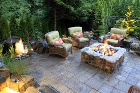 Stone Patio Images by Brick And Concrete Fire Pits Hgtv