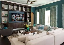 Family Room With Sectional Sofa Bedroom Design Beautiful Family Room With Square Cowhide Ottoman