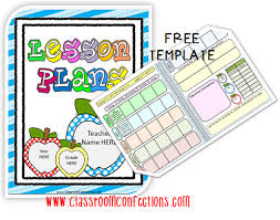 free editable lesson plan template classroom activities social